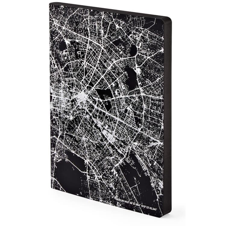 Notizbuch Nightflight over Berlin