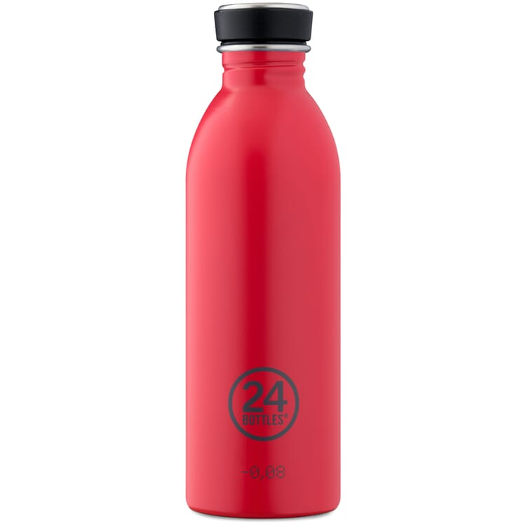 Drinking Bottle URBAN Small, Red