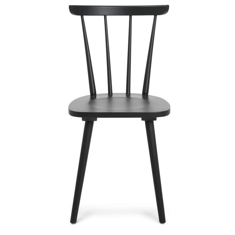 Chair W-1960, Black Grey RAL 7021