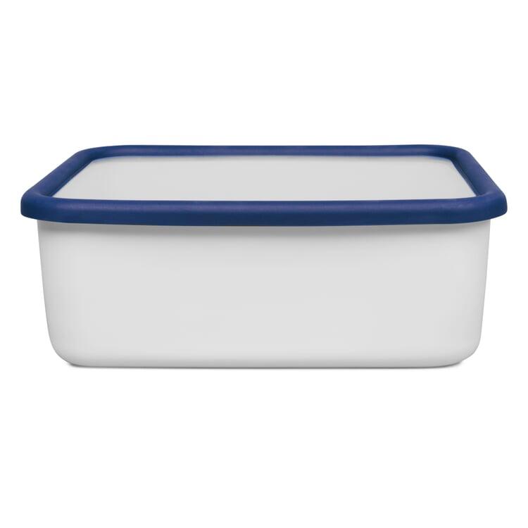Vorratsbehälter Emaille Blauweiss 1,9 l