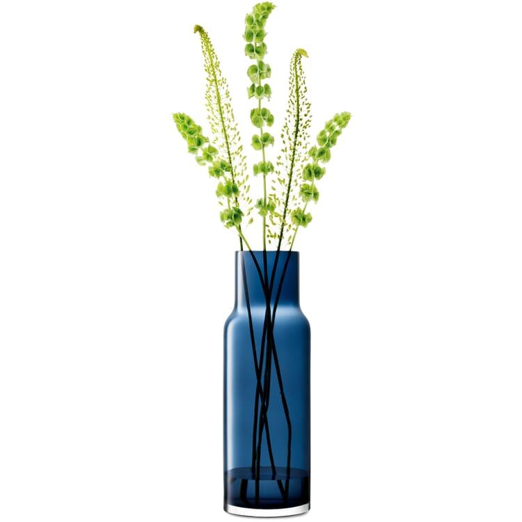 Vase Utility 65, Saphirblau