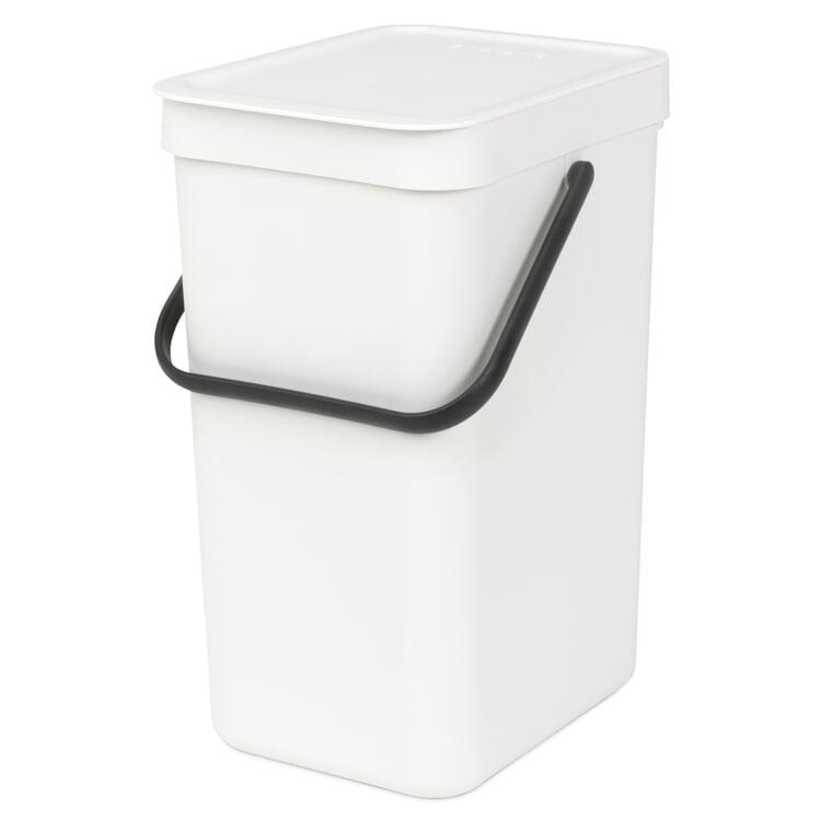 Abfallbehälter Sort & Go 12 l Weiß
