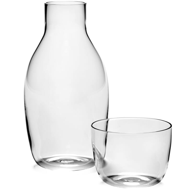 Set of Carafe and Glass Passe-Partout