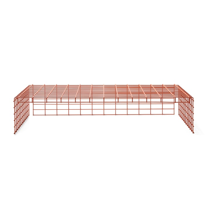 Wire Basket for CONTAINER DS Red Orange RAL 2001