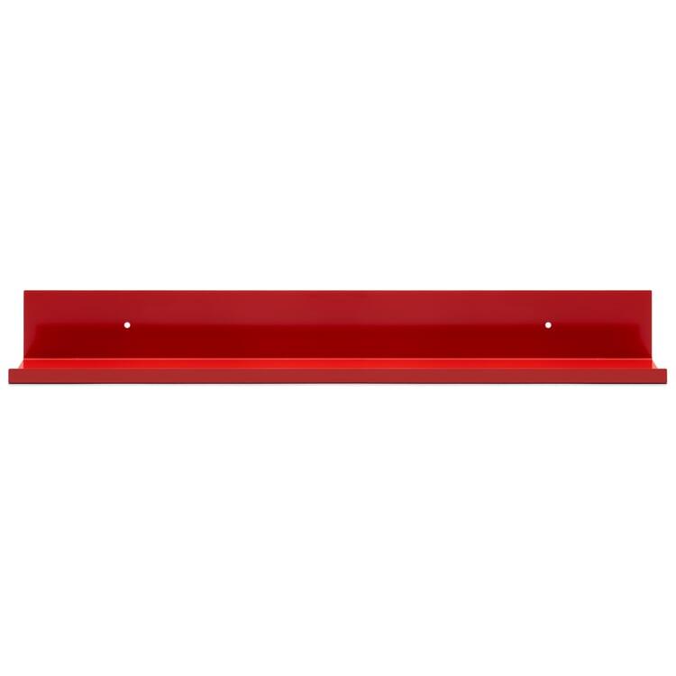 Regal Tragleiste 90 × 10 cm Verkehrsrot RAL 3020