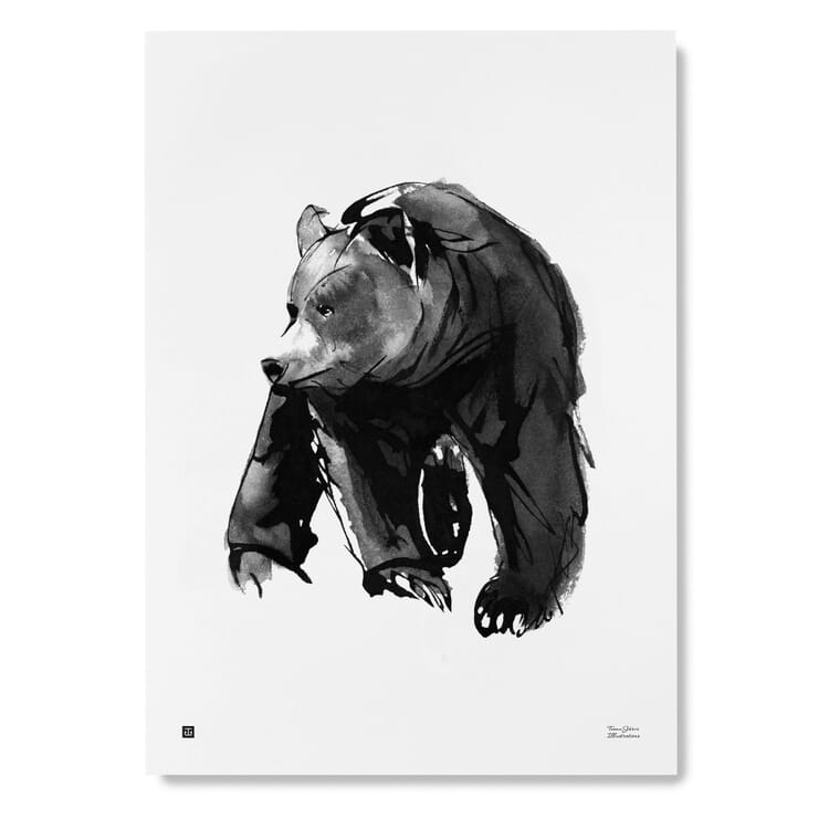 Teemu Järvi Print, Bear