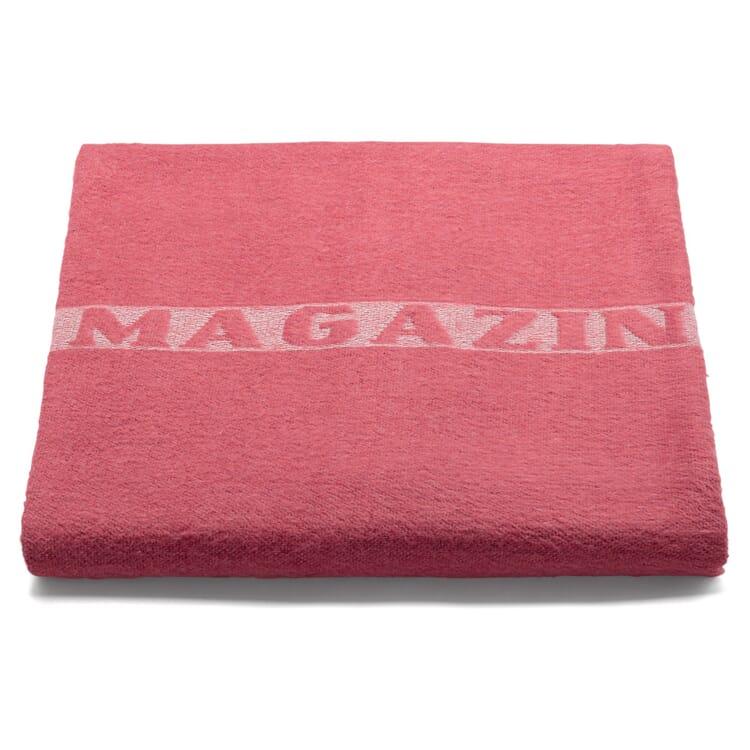 Decke MAGAZIN, Rot