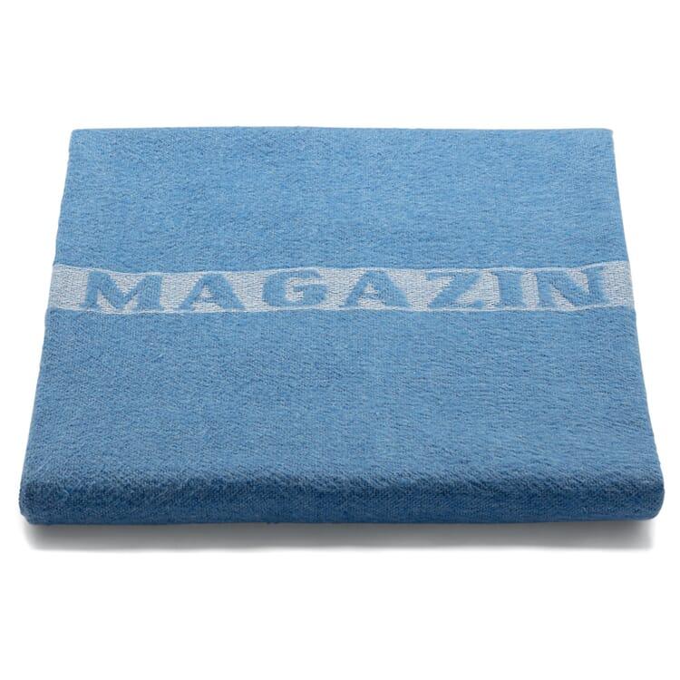 Decke MAGAZIN, Blau