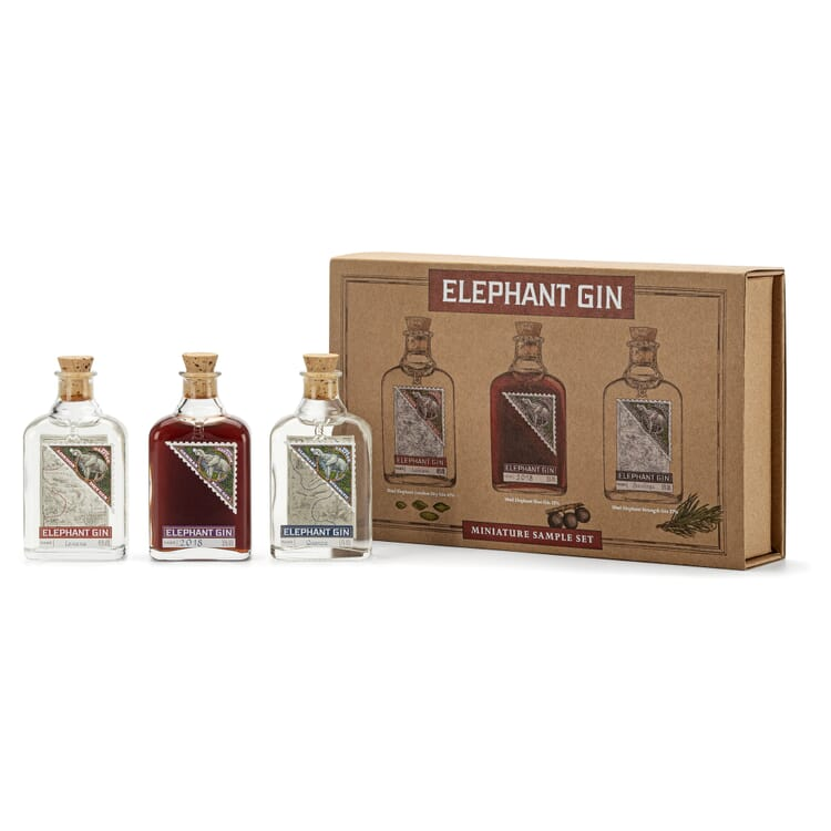 Tastingbox Elephant Gin (3 × 50 ml)