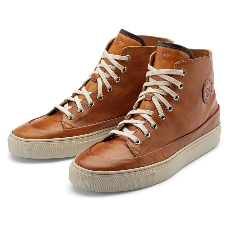 Men's Leather High Tops