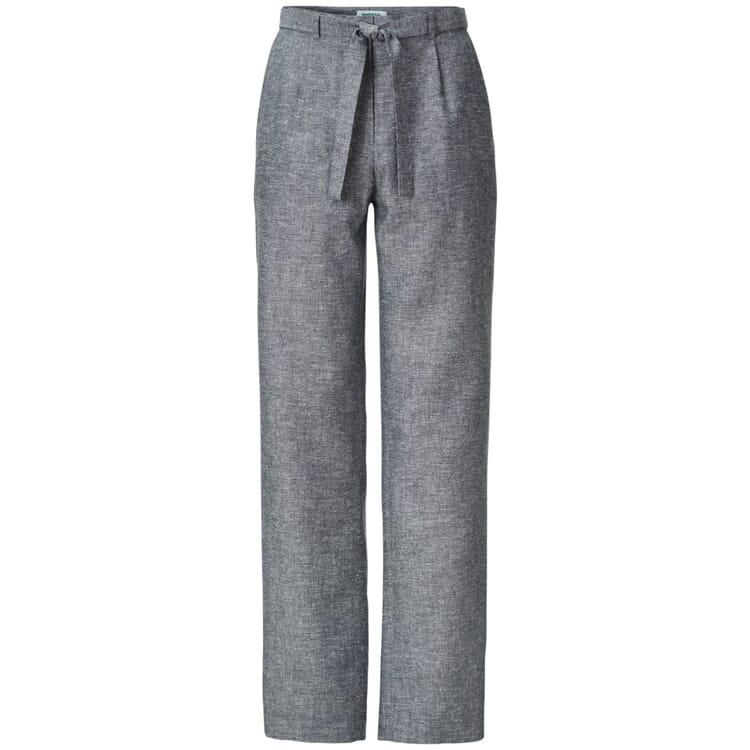 Damenhose Hanf und Tencel™, Graumeliert