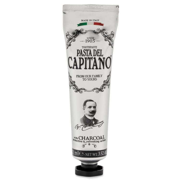 Pasta del Capitano Toothpaste, Coal