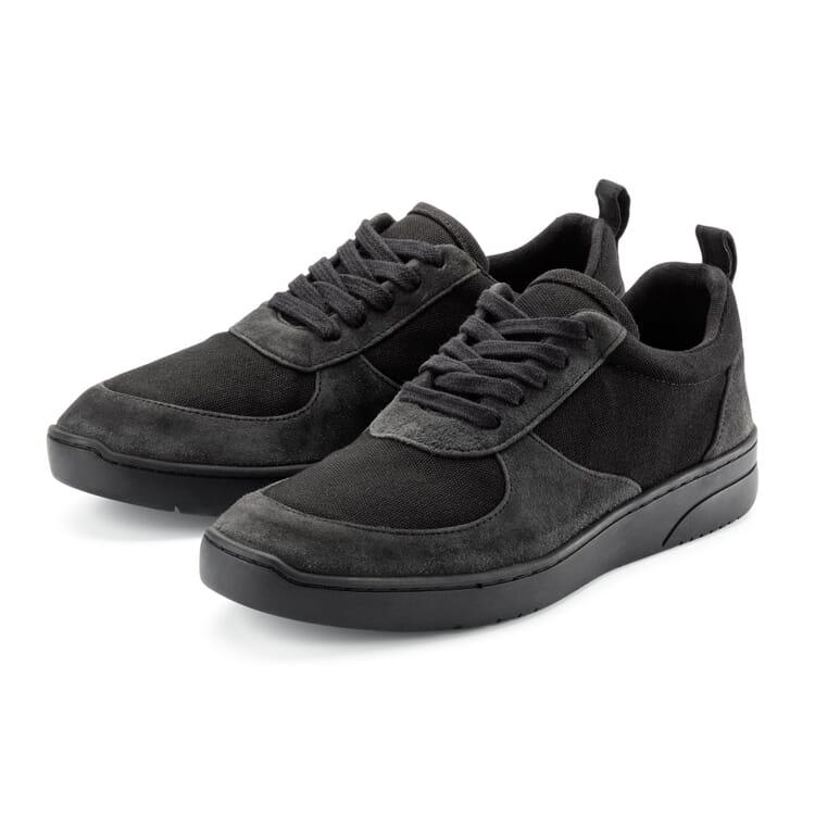 Herren-Ledersneaker, Anthrazit