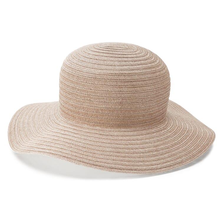 Women's Floppy Hemp Hat by Mayser, Taupe