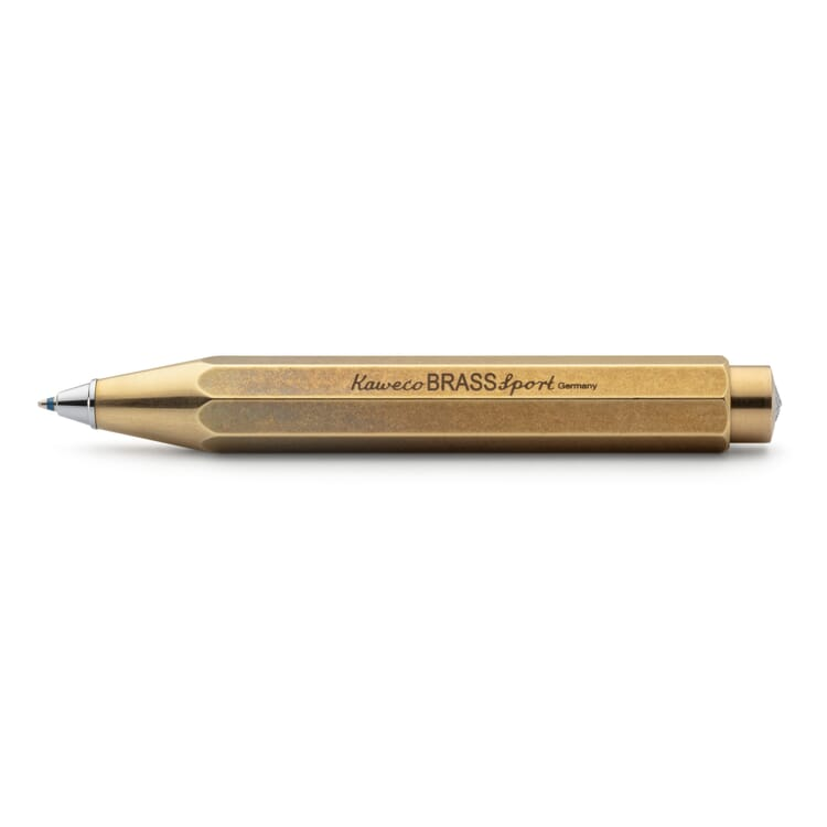 Kaweco's Sports Ballpoint Pen Made of Brass