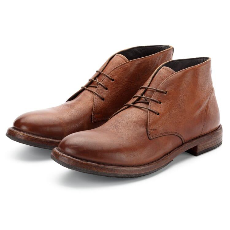 Men's Leather Chukka