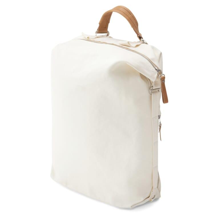 Backpack Zip Pack Bananatex, White