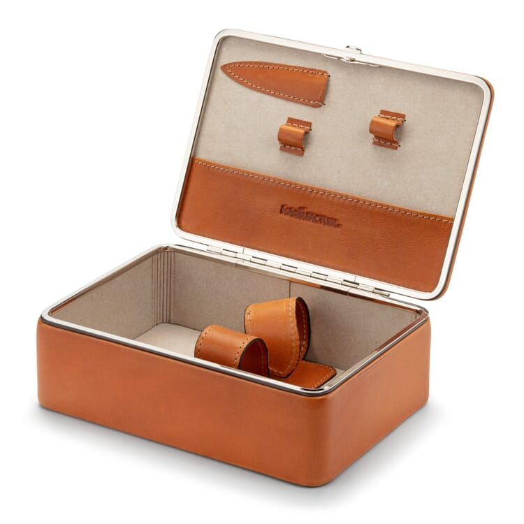 Cowhide Box for Care Utensils