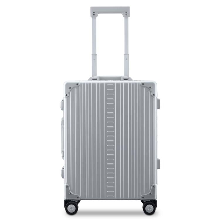 Koffer Aluminium Silberfarben