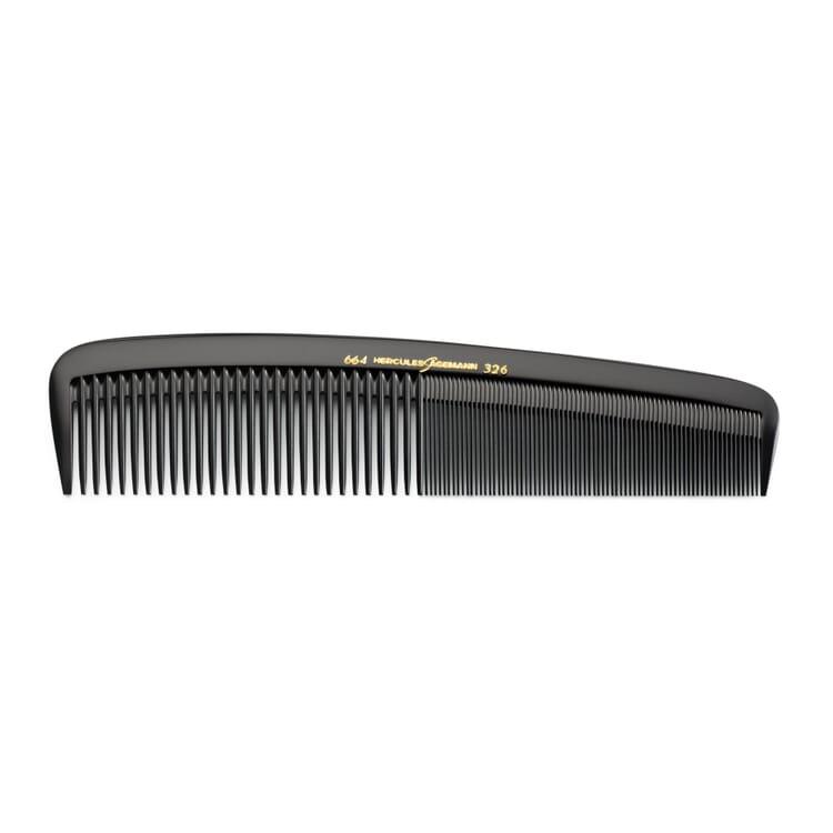 Salon Comb Made of Ebonite