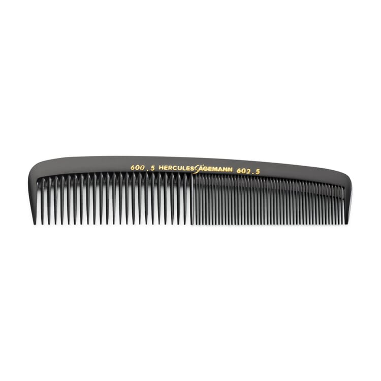Small Pocket Comb Made of Ebonite