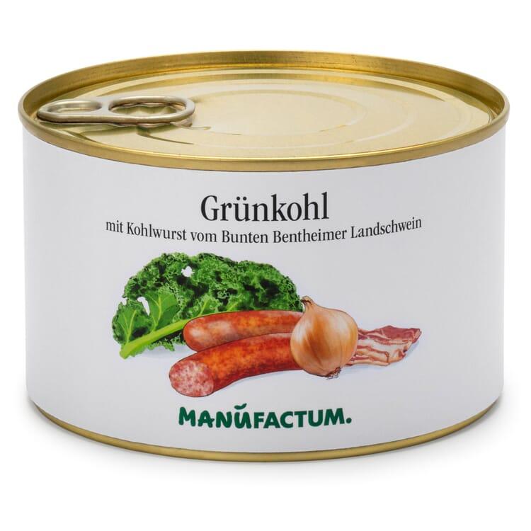 Grünkohl mit Würstchen vom Bentheimer Schwein