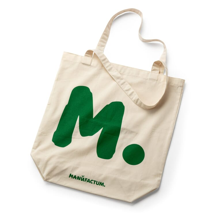 Cotton Bag with a Slogan by Manufactum, Plastic is for Malleable Personalities