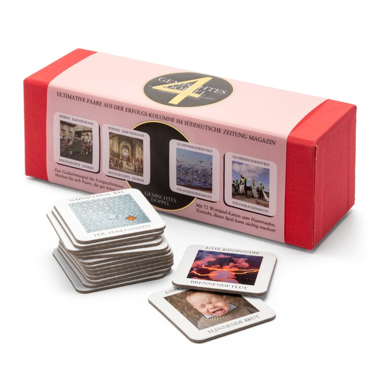 Memory Game with Word Pairs, Set 4