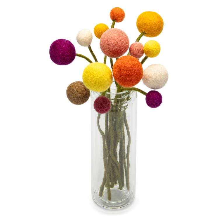 Set Filz-Blumen
