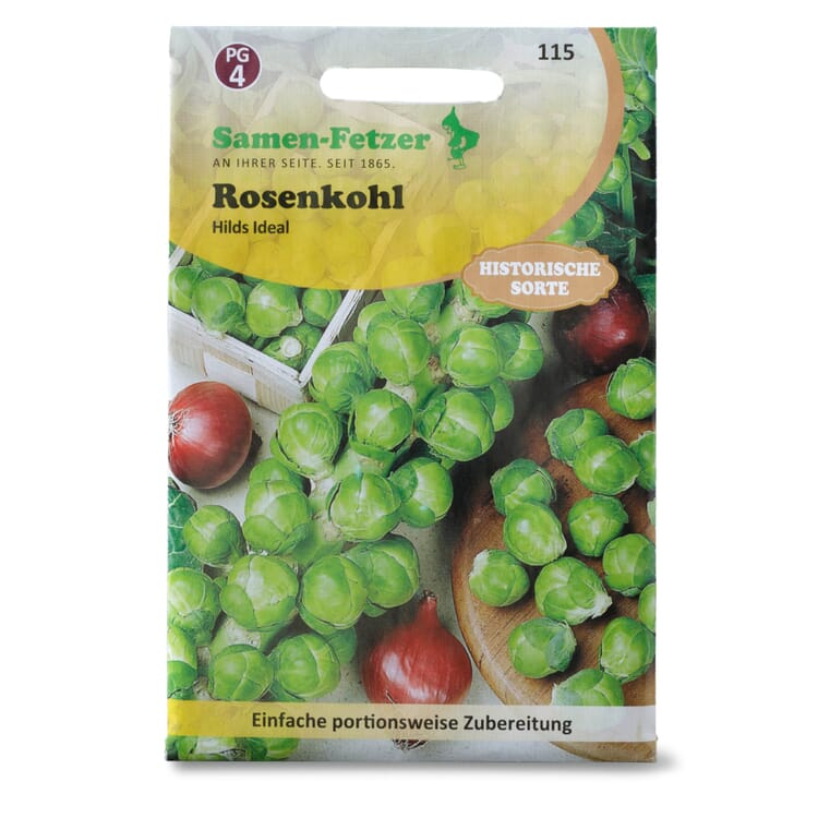Gemüsesaatgut Rosenkohl 'Hilds Ideal'