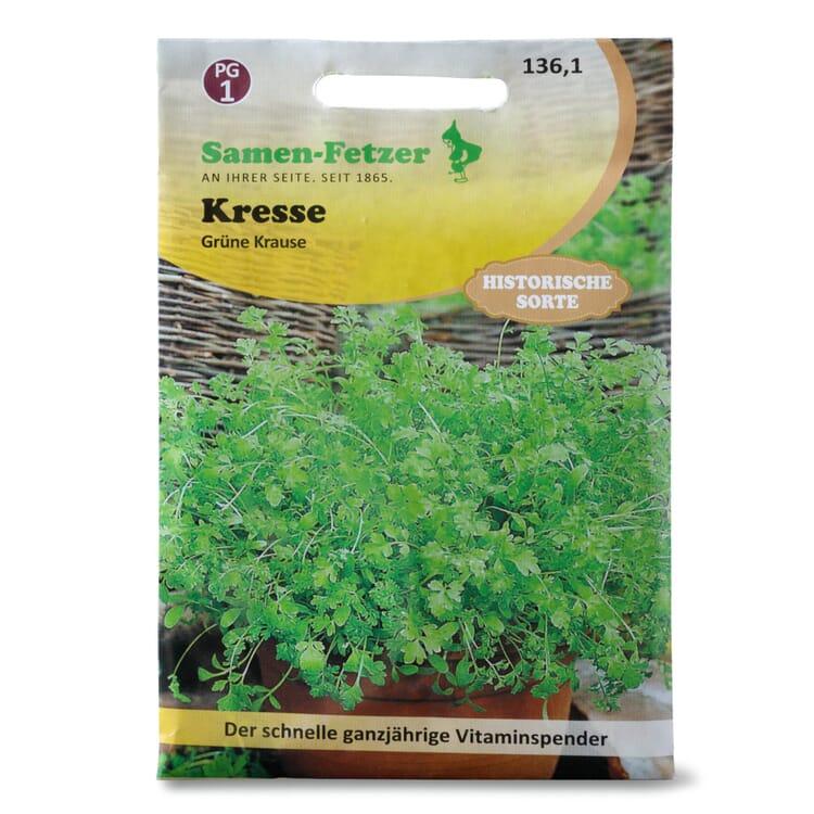 Kräutersaatgut Gartenkresse 'Grüne Krause'