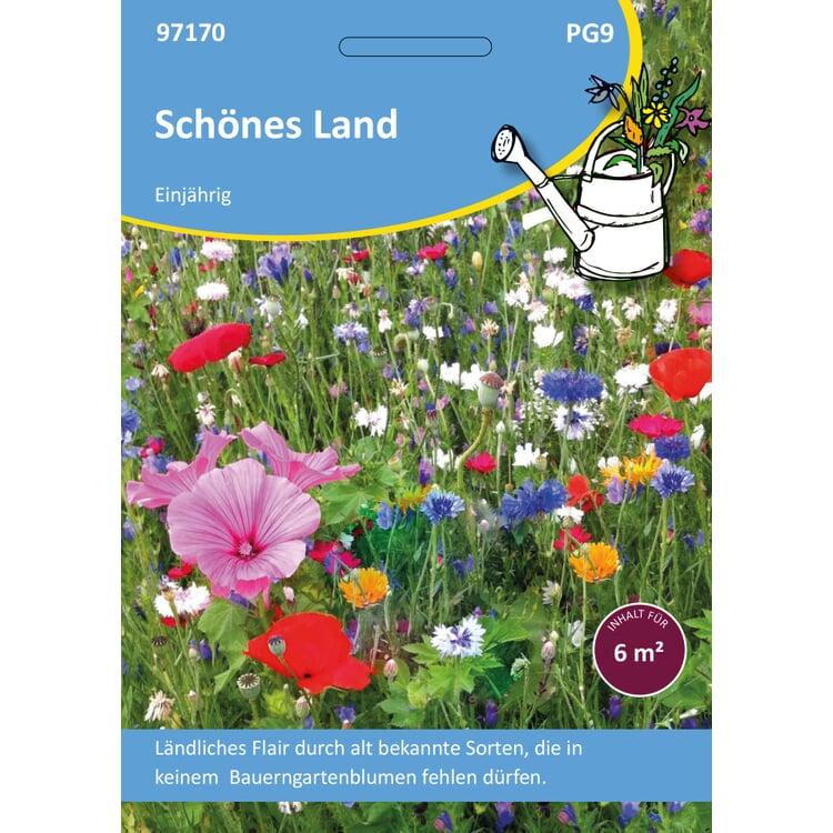 Saatgutmischung Sommerblumen aus dem Bauerngarten