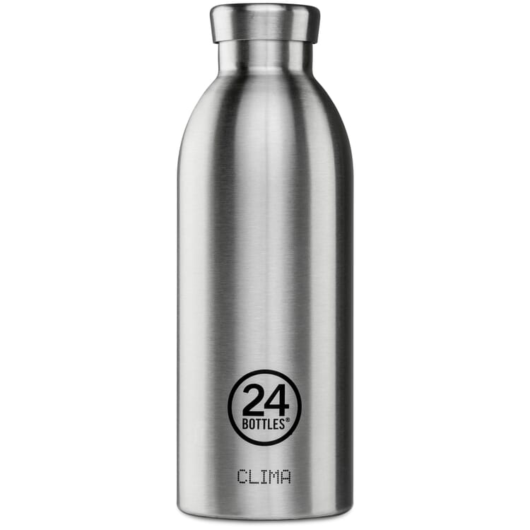 Small Drinking Bottle Clima, Stainless Steel