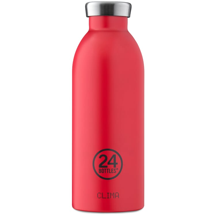 Small Drinking Bottle Clima, Red