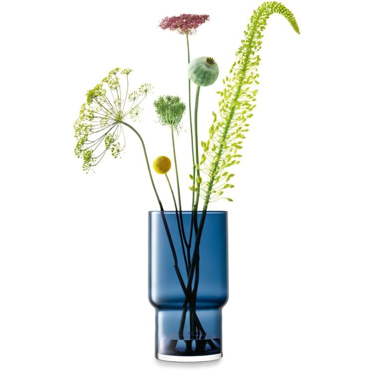 Vase Utility 30, Saphirblau