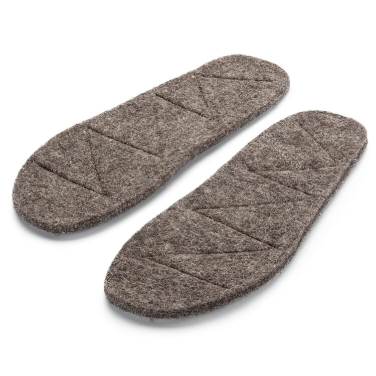 Insole Made of Wool Felt