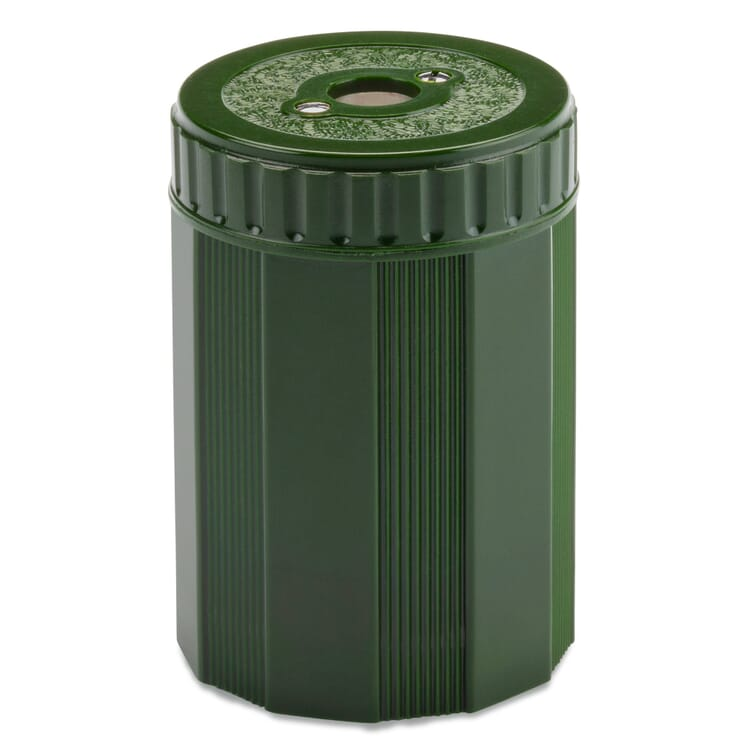 Pencil Sharpener with Thermoset Container by Dux, Green