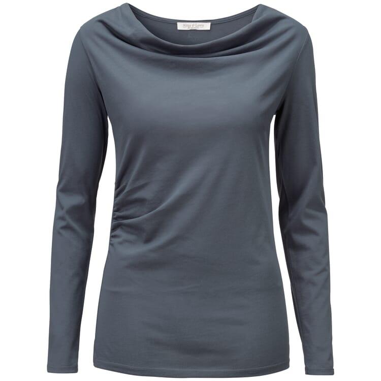 Damen-Shirt Cascade, Taubenblau