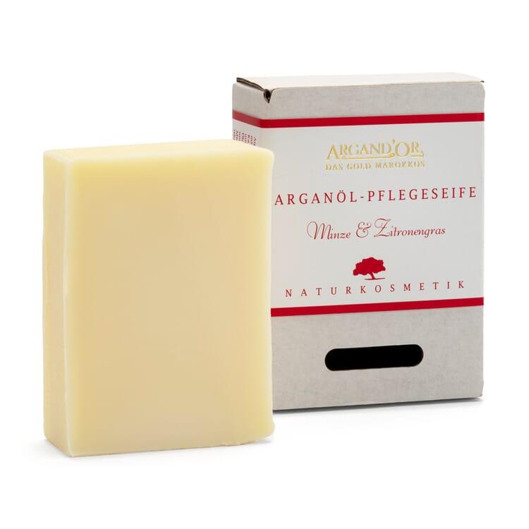 Argan Oil Nourishing Soap, Mint-Lemongrass