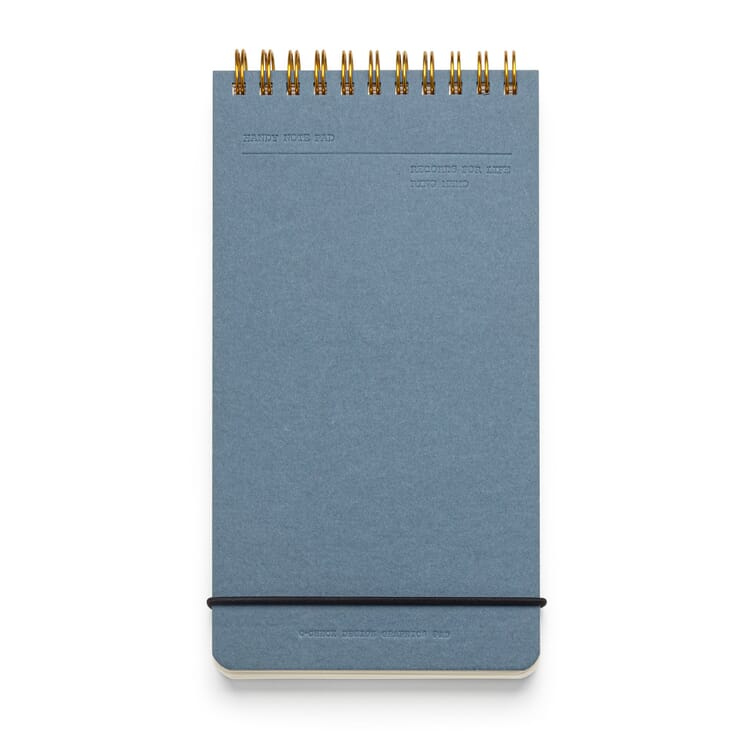 Reporter Pad with Spiral Binding, Blank