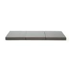 Foldable Mattress Flex Plus Grey