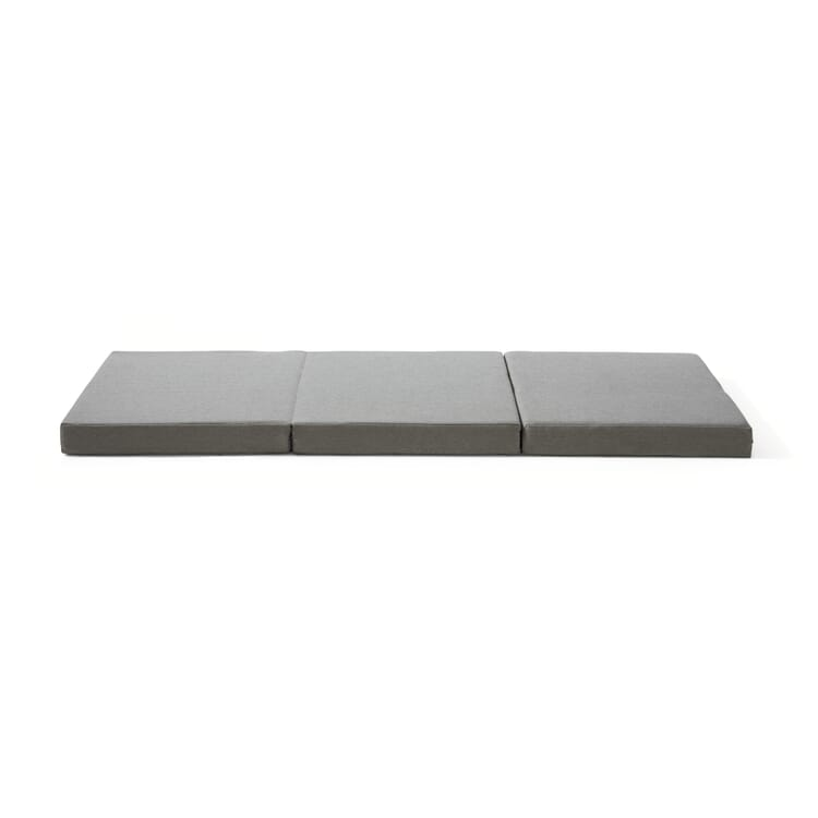 Koffermatratze Flex Plus, Grau