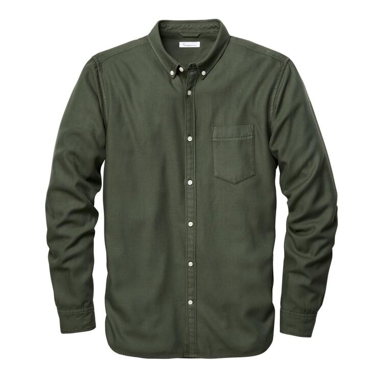 Herrenhemd Tencel™-Baumwolle Grün