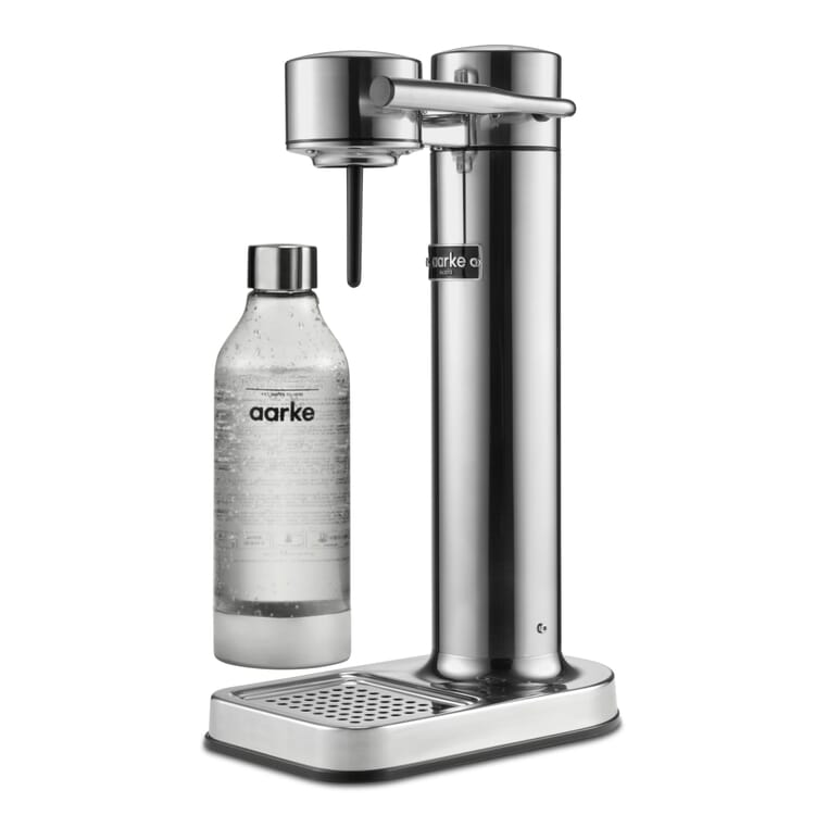 Wassersprudler Aarke Carbonator II, Poliert