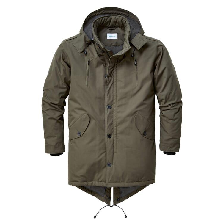Men's Winter Parka Etaproof® by Manufactum, Olive Green