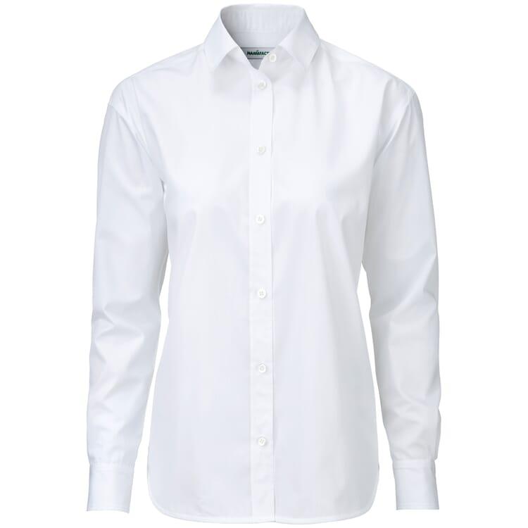 Damen-Hemdbluse, Weiß