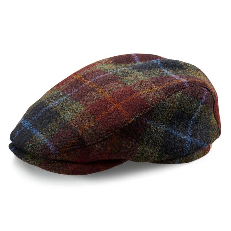 Men's Flat Cap Made of Harris Tweed