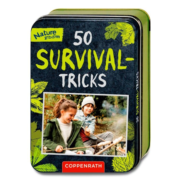 Kartenbox, 50 Survivaltricks
