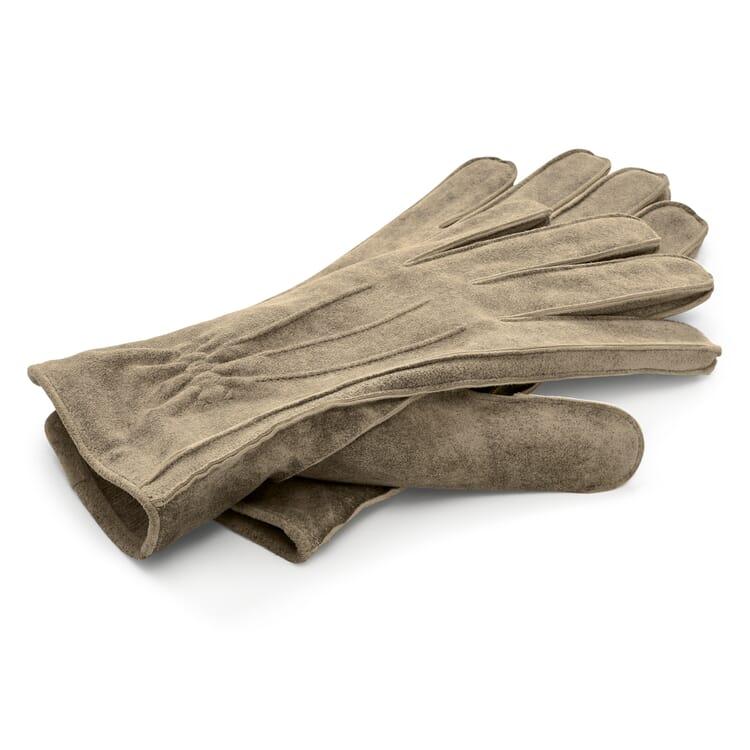 Herrenhandschuh Ziegenleder, Stone