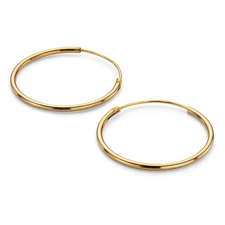 Creole Simple-Hoop Gold